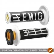 Emig Racing Lock On MX Grips With Throttle Tube - Fit 2T + 4T Bikes