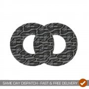 Motocross Grip Donuts - Black