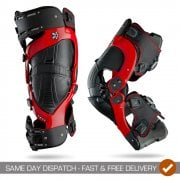 2019 Adults Ultra Cell Knee Braces - Pair - Red