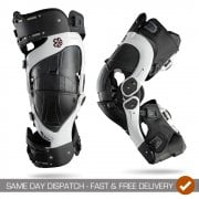Adults Ultra Cell Knee Braces - Pair - White