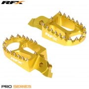 Pro Foot Pegs - Suzuki RMZ 250 2007-09, RMZ450 2005-07 - Yellow