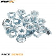 M8 Flange Nut Pack (25pcs)