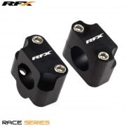 Universal Handlebar Adaptor Kit -  Converts 22.2mm To Fit 28.6mm Oversize Bars - Black