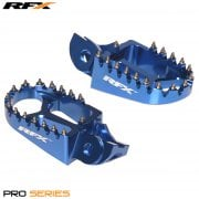 Pro Series Foot Pegs - Husqvarna TC125 / FC 250/350/450 2016-20 (Not TE/FE 16) - Blue