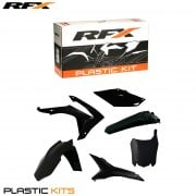 Full Plastics Kit Inc. Airbox Covers - Honda CRF450R 2013-16, CRF250R 2014-16 - Black