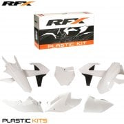 Full Plastics Kit - KTM SX 125/150 & SXF 250/350/450 2016-18 - White