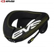 Adults R3 Neck Protector Including Armour Straps - Black/Hi-Viz Yellow - One Size