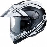 Adults Tour-X IV Adventure Helmet Black/ White