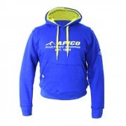 Adults Pull Over Hoodie - Blue Yellow
