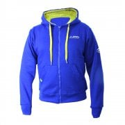 Adults Zip-Up Hoodie - Blue/ Yellow