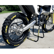 X-Tyre Tyre Covers - Pair - Black