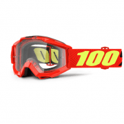 Youth Accuri MX Goggles - Saarinen / Clear Lens