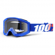 Youth Strata MX Goggles - Nation / Clear Lens