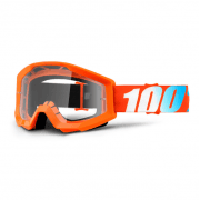 Youth Strata MX Goggles - Orange / Clear Lens