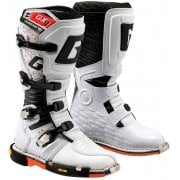 Adults GX1 Super Moto Boots - White