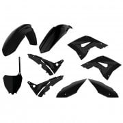 Restyle Plastics Kit - Honda Restyle CR 125/250 02-07 (Restyle To CRF 450 2019 Style) - Black