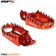 Pro Foot Pegs - KTM SX85 2018-Onwards, SX/SXF 125-450 2016-Onwards - Orange