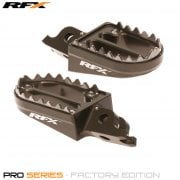 Pro Series Shark Teeth Foot Pegs - Honda CR125/250 2002-07, CRF250/450 2002-20, CRF150 2007-21, CRF250L 2013-19 - Grey