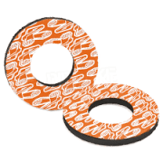 Donutz Grip Donutz - White/ Orange