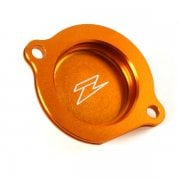 Anodised Oil Filter Cover - KTM 250-505 Pre-2012 Models - Orange