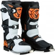 Adults M1.3 MX Boots - Orange/ White