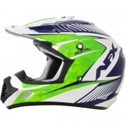 Adults FX-17 Factor MX Helmet - Green