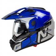 Adults MX670 Uno DVS Dual Sport Helmet - Blue
