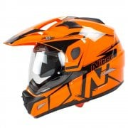 Adults MX670 Uno DVS Dual Sport Helmet - Orange