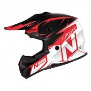 Youth MX620 Podium Helmet - Black/ Red