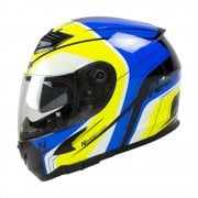 Adults N2300 Pioneer Helmet - Black/ Blue/ Yellow/ White