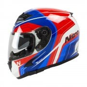 Adults N2300 Pioneer Helmet - White/ Red/ Blue