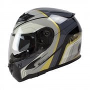 Adults N2300 Pioneer Helmet - Black/ Gun/ Silver/ Gold