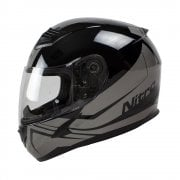 Adults N2400 Rogue Helmet - Black/ Gun Metal