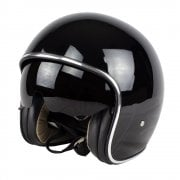 Adults X582 Uno Open Face Helmet - Gloss Black