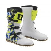 Adults Classic Waterproof Trials Boots - Camo Blue