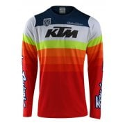 Adults 2019 SE Pro KTM Jersey - Mirage White/ Red