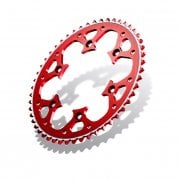Radialite Rear Sprocket - Honda CR 125/250/500 & CRF 250/450 1999-2020 - Red/ 53T