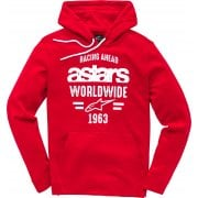Adults World Hoody - Red