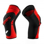 Adults Ridecamp Knee Guards - Red/ Black