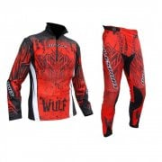 Adults Aztec Trials Jersey & Pants - Red