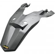 Rear Fender Extension - KTM EXC-F250 2008-10, SXF450 2007-10 - Carbon Look