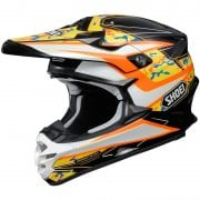 Adults VFX-W Turmoil TC8 Helmet - Orange
