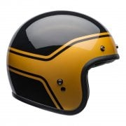 Adults Cruiser 2020 Custom 500 DLX Helmet - Streak (Gloss Black/Gold)
