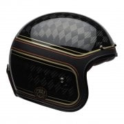 2020 Adults Cruiser Custom 500 Carbon Helmet - RSD Checkmate (Black/ Gold)
