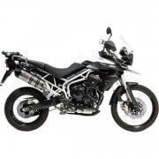 LV One Evo Slip-On Silencer - Triumph Tiger 800 2011-16