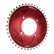 Solid Rear Sprocket - Beta 2003-19, Scorpa/ Sherco/ Gas Gas 2002-19, Montesa 4RT 2005-19 - Red/ 43T