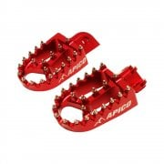 Xtreme Foot Pegs - Beta RR 125-300 2T 2013-20, RR 350-520 4T 2010-20, Gas Gas EC/XC 2018-20 - Red