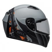 2020 Adults Qualifier STD Helmet - Integrity - Matte Camo Titanium/ Orange