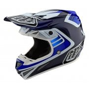 2020 Adults SE4 Carbon Helmet - Flash - Blue/ White