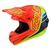 2020 Adults SE4 Composite Helmet - Silhouette - Orange/ Yellow